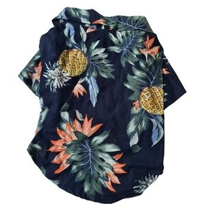 NEW Pet Coat Floral Navy - For Dogs or Ca…